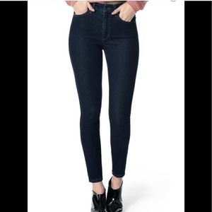 Joe's Jeans High Rise Skinny Dark Wash
